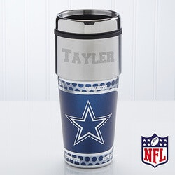 70th Birthday Gifts Under $50:Personalized Dallas Cowboys NFL Football..