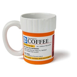 Gifts for Wife:Prescription Coffee Mug