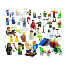 Birthday Gifts for 9 Year Old:LEGO Education Community Minifigures Set