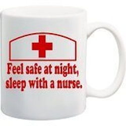 Gifts for Women:Feel Safe At Night Mug