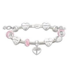 Gifts Under $100:Nurses Heart Charm Bracelet