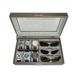 Gifts for Boss:Watch And Sunglasses Case