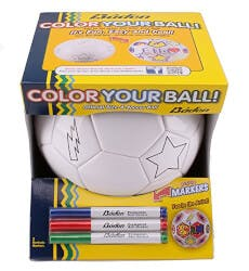 Color Your Own Soccer Ball