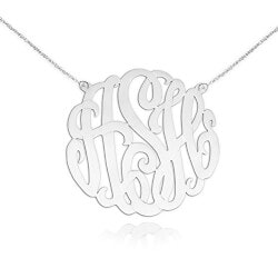 Unique Valentines Day Gifts for Teens:Personalized Initial Necklace