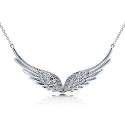 Jewelry Anniversary Gifts:Angel Wings Pendant Necklace