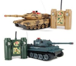 RC Battling Tanks