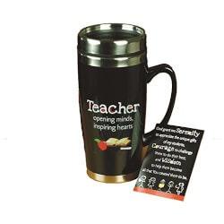 Gifts for Teachers:Teacher Travel Mug With Card