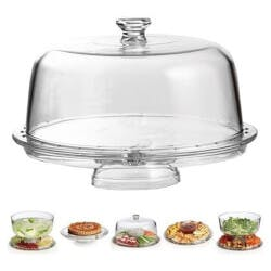 Multi-Functional 6-In-1 Deluxe Cake Stand