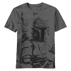 Christmas Gifts for 16 Year Old:Star Wars Charcoal Grey T-Shirt