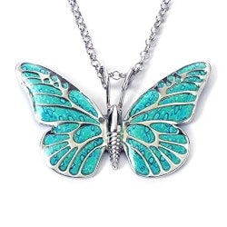 Exquisite Handmade Butterfly Necklace