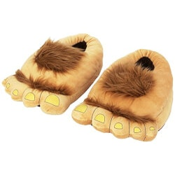 Funny Valentines Day Gifts:Furry Hairy Slippers