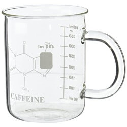 Funny Gifts:Caffeine Beaker Mug