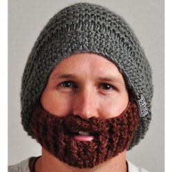 Unique Valentines Day Gifts for Teens:Beardo Original Beard Hat