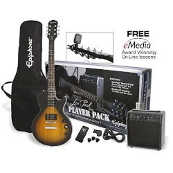 Birthday Gifts for 14 Year Old  Teens Over $200:Electric Guitar Player Pack