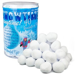 Unique Christmas Gifts for Kids:Indoor Snowball Fight