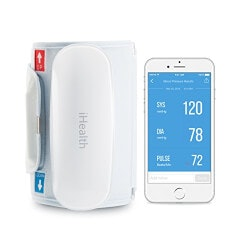 Gifts for GrandmotherUnder $100:IHealth Blood Pressure Monitor For Smartphone