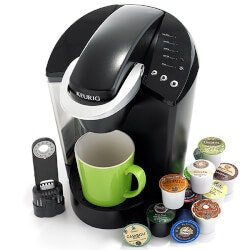 Gifts for Grandfather Under $200:Keurig Elite Brewing System