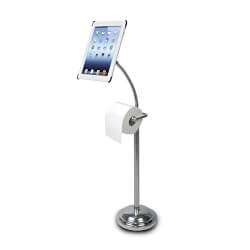 Funny Christmas Gifts for Women:IPad Pedestal Stand For Bathroom