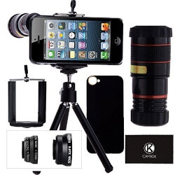 Gadget Birthday Gifts for Husband:IPhone Camera Lens Kit