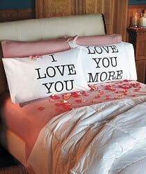 Love You & Love You More Pillowcases