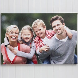 Christmas Gifts for Mom Under $50:Personalized Photo Canvas Print