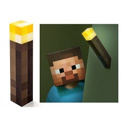 Unique Birthday Gifts for 16 Year Old  Boyfriend:Minecraft Wall Torch