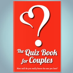 Personalized Christmas Gifts for Husband:Quiz Book For Couples