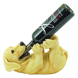 Funny Christmas Gifts for Women:Puppy Wine Holder