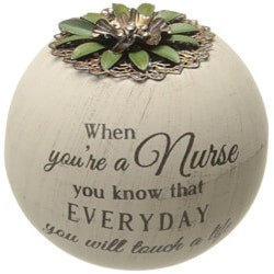 Gifts for Women Under $25:Nurse Candle Holder