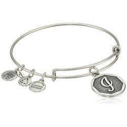 Jewelry Gifts for 19 Year Old  Girlfriend (Under $25):Alex And Ani Initial Bracelet
