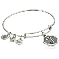 Gifts for 19 Year Old Daughter Under $25:Alex And Ani Initial Bangle Bracelet