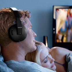 Brookstone Wireless TV Headphones