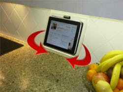 Original Kitchen IPad Rack (With Swivel)