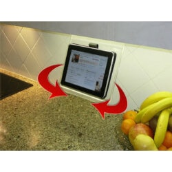 Christmas Gifts for Women Under $10:Original Kitchen IPad Rack (With Swivel)