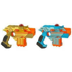 Birthday Gifts for 9 Year Old:Nerf Lazer Tag 2-Pack