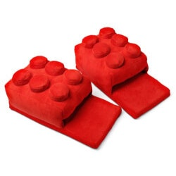 Birthday Gifts for Brother Under $50:Building Brick Slippers