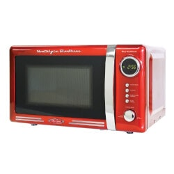 Unusual Gifts for Mom:Retro Countertop Microwave Oven