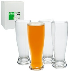Birthday Gifts for Brother Under $50:Unbreakable Beer Glasses