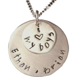 Jewelry Birthday Gifts for Grandmother (Under $50):I Love My Boys