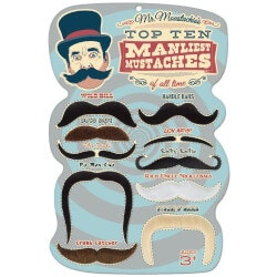 Gag Gifts:Top 10 Manliest Mustaches