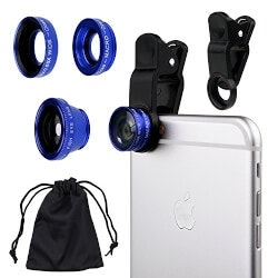 Christmas Gifts for Women Under $10:3 In 1 Cell Phone Camera Lens Kit