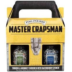 Gag Gifts:Poo-Pourri Master Crapsman Gift Set