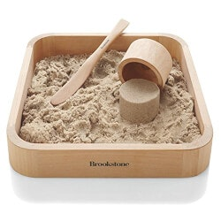 Unique Christmas Gifts for Coworkers:BrookStone Sand Box