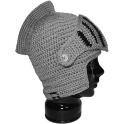 7th Anniversary Gifts for Boys:Knight Helmet Hat