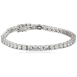 Jewelry Gifts for Girlfriend:Swarovski Zirconia Tennis Bracelet