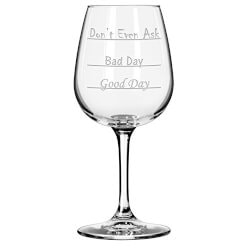 Funny Christmas Gifts for Women:Good Day - Bad Day - Don%T Even Ask Wine