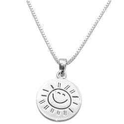 Unique Valentines Day Gifts for Teens:You Are My Sunshine Necklace