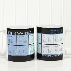 Personalized Gifts (Under $10):Personalized Coffee Mug Calendars - Its A..