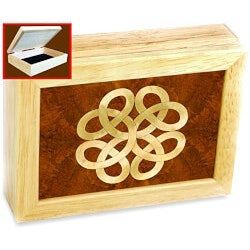 Jewelry Birthday Gifts for Girlfriend (Under $50):Celtic Knot Box