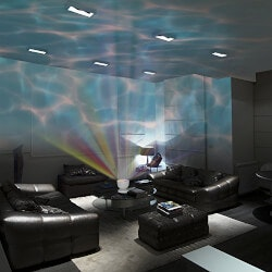 Birthday Gifts for 4 Year Old:Ocean Wave Projector LED Night Light